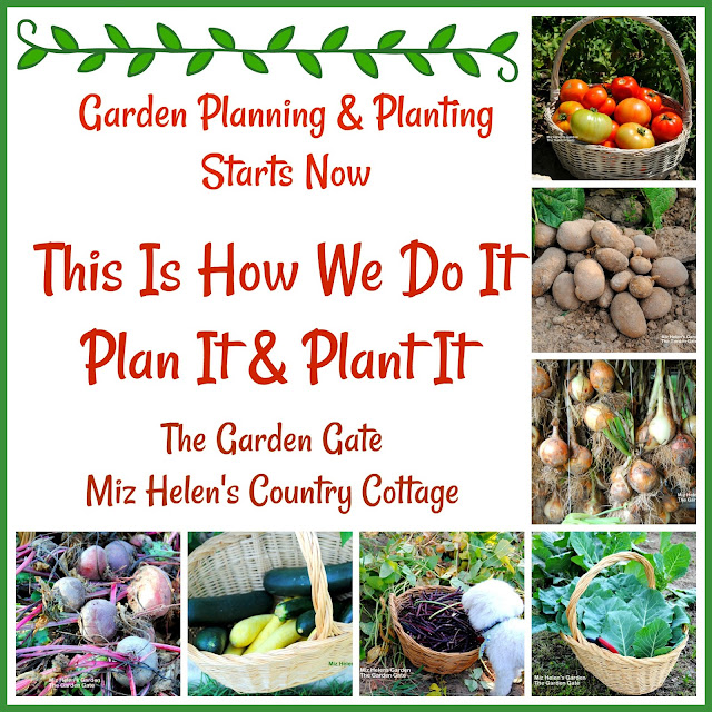 Garden Planning and Planting at Miz Helen's Country Cottage