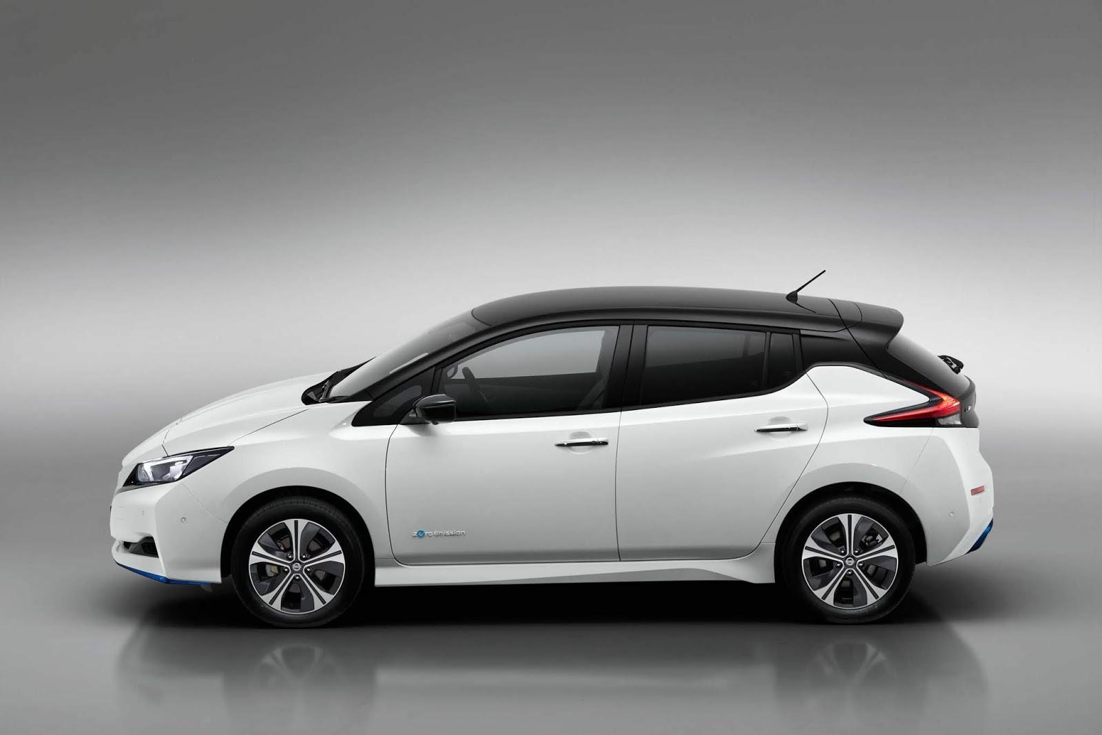 Τα ηλεκτρικά Nissan LEAF 3.ZERO και LEAF 3.ZERO e + Limited Edition, με μεγαλύτερη απόδοση και εμβέλεια