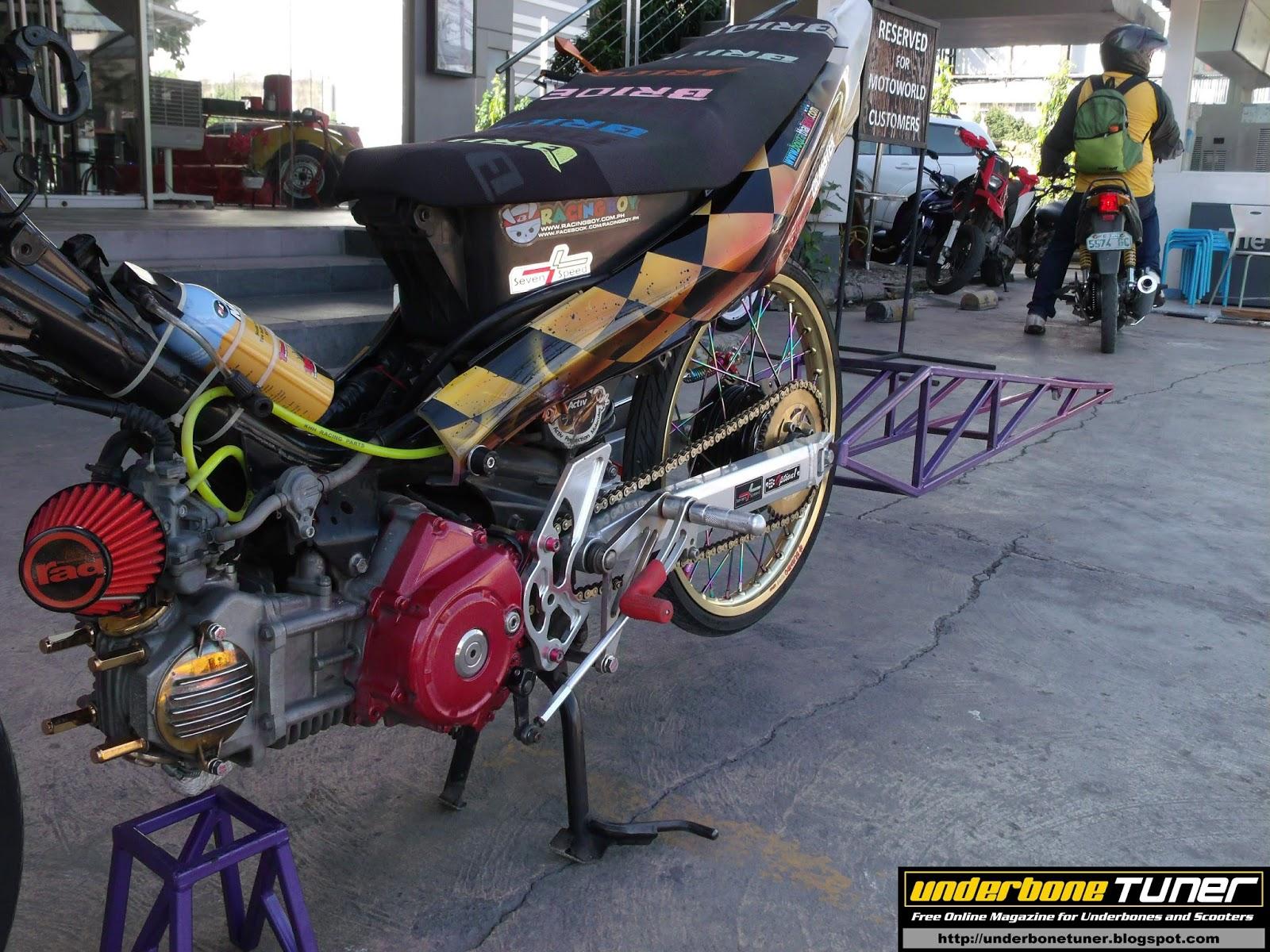 Underbone Tuner: Thai Style Yamaha Vega Force Dragster