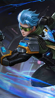 Gusion Cyber Ops Heroes Assassin Mage of Skins October Starlight 2018 V4