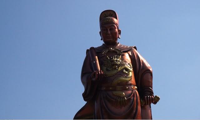 Patung Laksamana Cheng Ho Tertinggi di Dunia Klenteng Sam Poo Kong Semarang