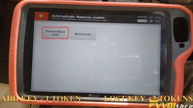 xhorse  vvdi key tool plus benz w204 2007 add key 5