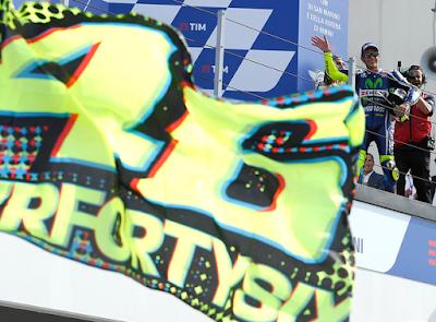 Rossi: Siapa Mau Pakai Nomor Start #46 Saya?