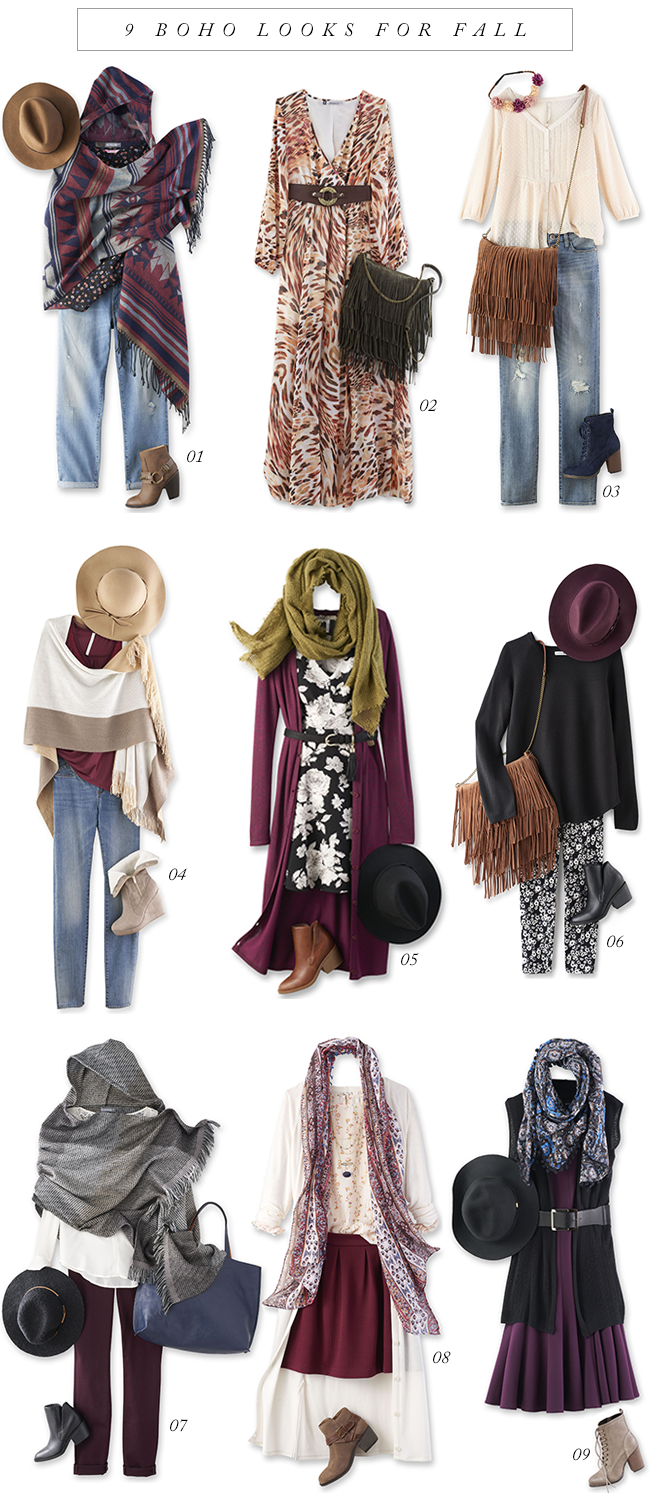 Bubby And Bean Living Creatively 9 Boho Looks For Fall