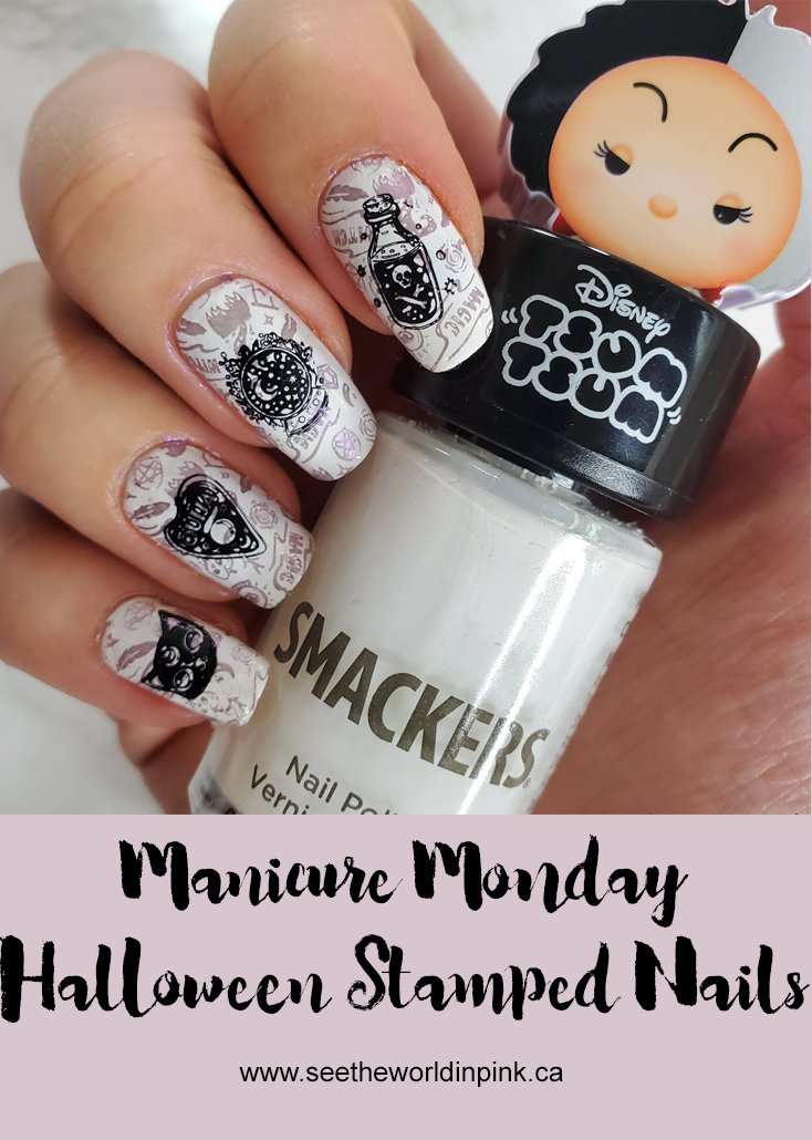 Manicure Monday - Stamped Halloween Nails