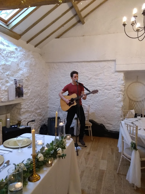 Ed Hill playing at Bickley Mill Inn