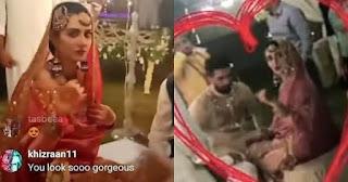 Sarah Khan and Falak Shabir Wedding Videos