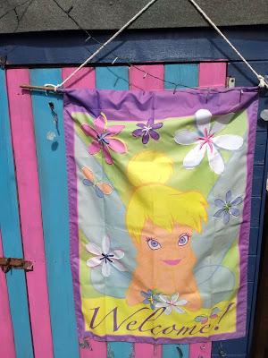 Tinkerbell flag
