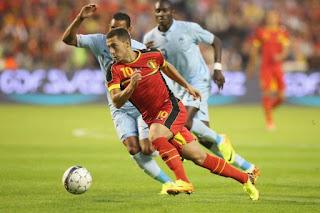 مباراة فرنسا و بلجيكا