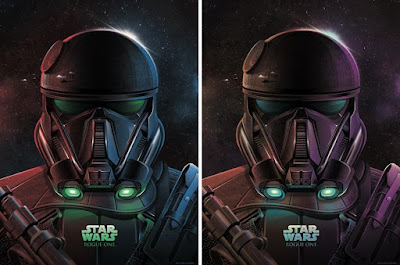 "Star Wars: Rogue One ""Imperial Death Trooper"" Screen Print by DKNG x Bottleneck Gallery"