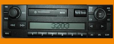Wolkswagen Radio Codes