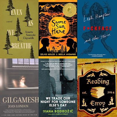 Cover images from books featured (listed after this)
