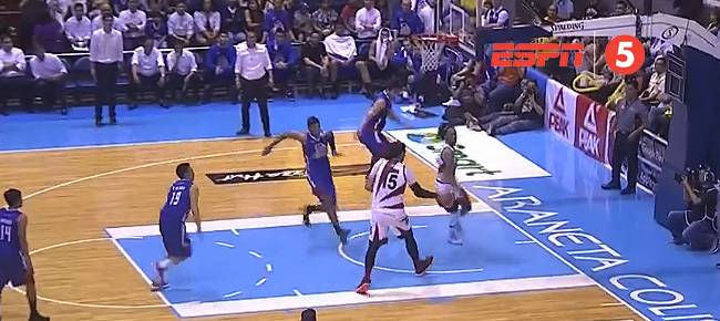 Rafi Reavis with the NASTY BLOCK on June Mar Fajardo (VIDEO)