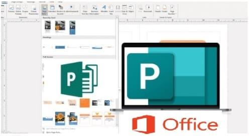 برنامج مايكروسوفت ببلشر 2020 Microsoft Publisher