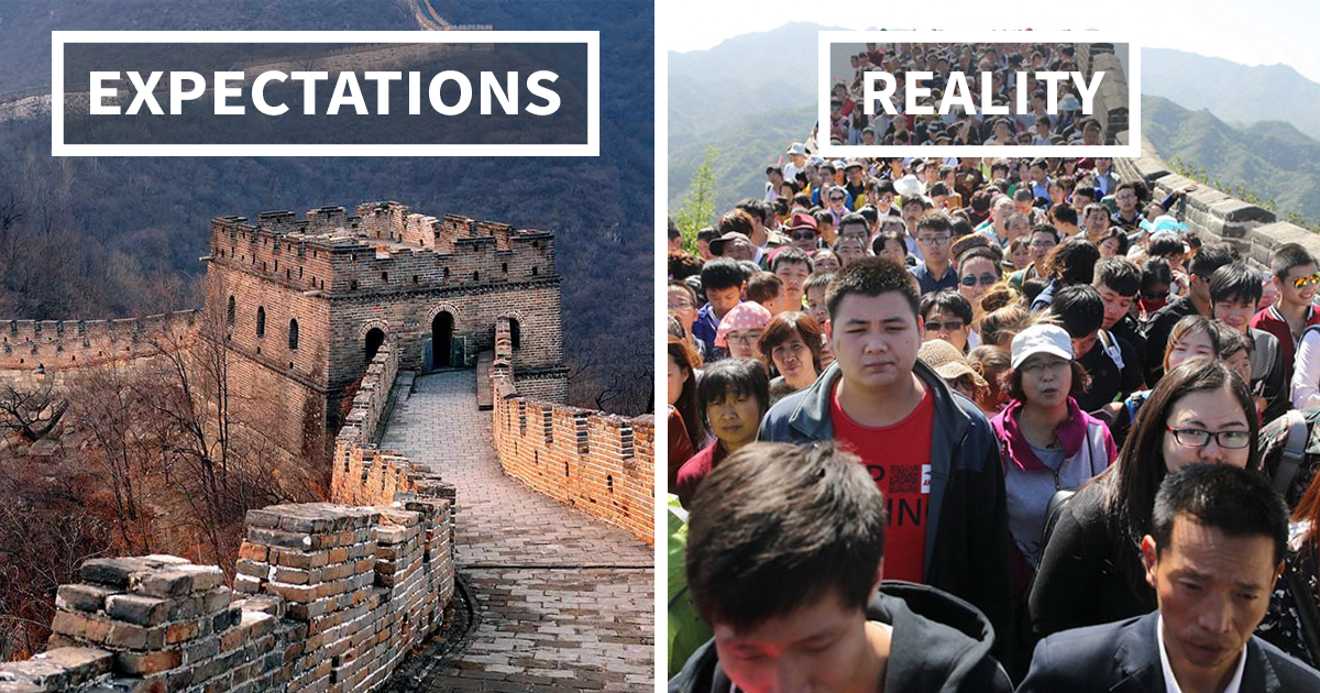 Travel Expectations Vs Reality (20+ Pics)