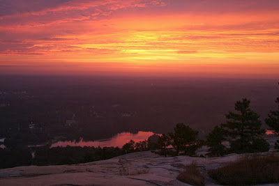 Sunrise From Stone Mountain