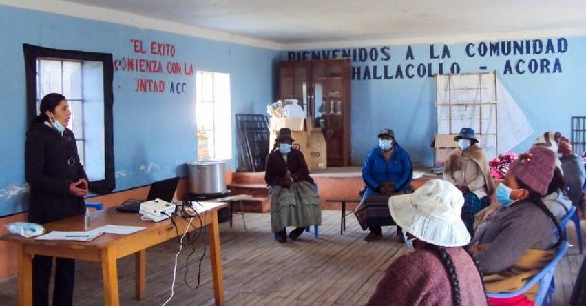 EDITH CALLOMAMANI CALLOMAMANI: Conoce a la talento que logró erradicar la basura en las calles de su comunidad en Puno