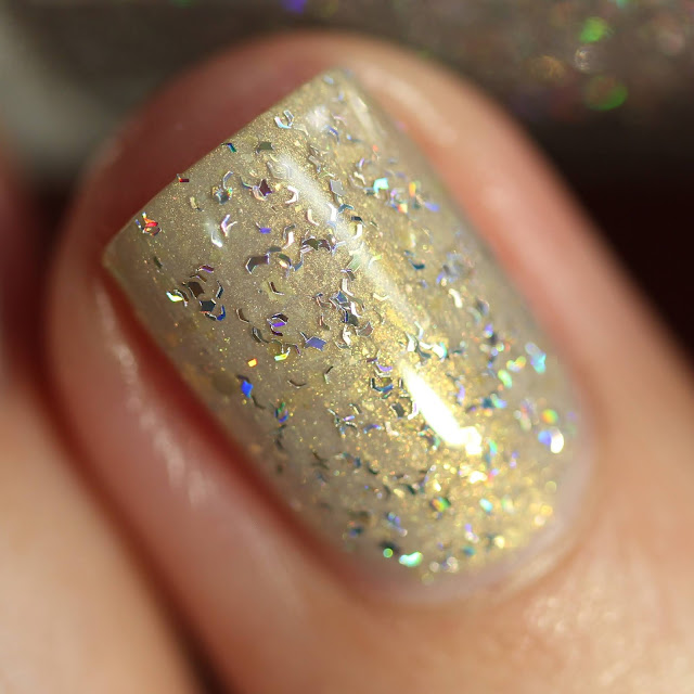holographic shred nail polish