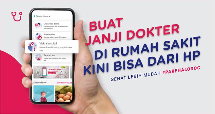 Aplikasi Halodoc Konsultasi Dokter Online Gratis