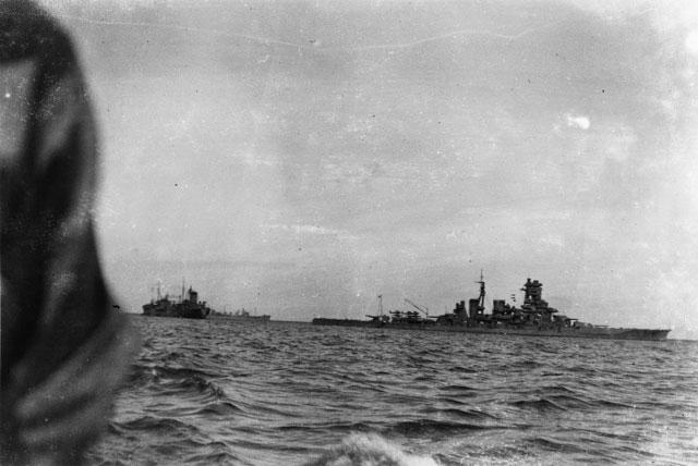 Battleship Kirishima in Kido Butai, 2 April 1942 worldwartwo.filminspector.com