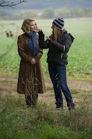 The Zookeeper's Wife Jessica Chastain and Niki Caro Set Photo (19)