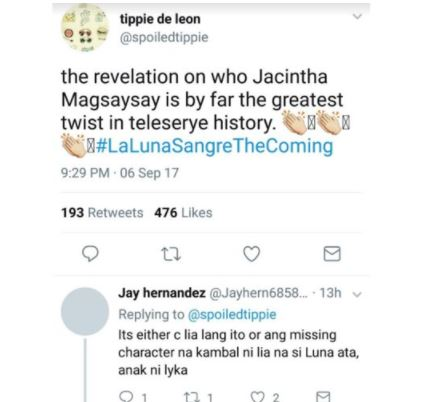 After Angel Locsin's Comeback in La Luna Sangre, Fans Can't Stop Making Theories About Her New Character!  After Angel Locsin's Comeback in La Luna Sangre, Fans Can't Stop Making Theories About Her New Character!