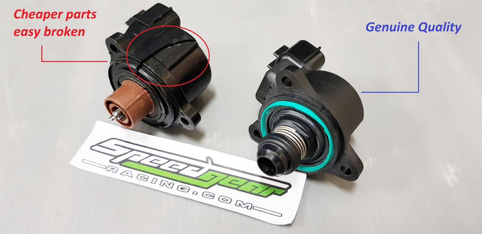 Speedgear Racing: Stepper motor Idle valve 4G63 4G63T Lancer EVO 1 2