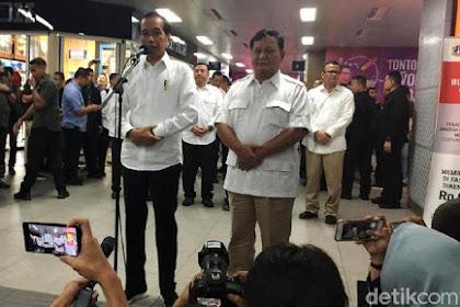 Prabowo bertemu Jokowi setelah pilpres