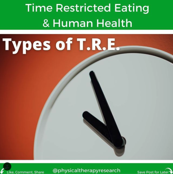 Time Restricted Eating and Human Health Part 2 - themanualtherapist.com