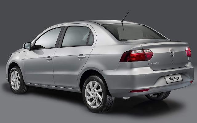 VW Gol e Voyage 2019 automáticos chegam no 2º semestre