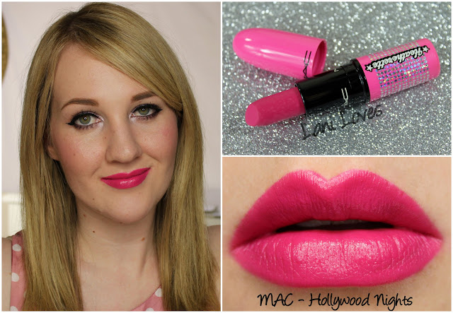 MAC Hollywood Nights lipstick swatch