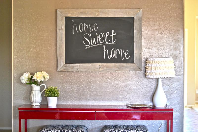 DIY: Pallet Chalkboard.   Paddington Way.