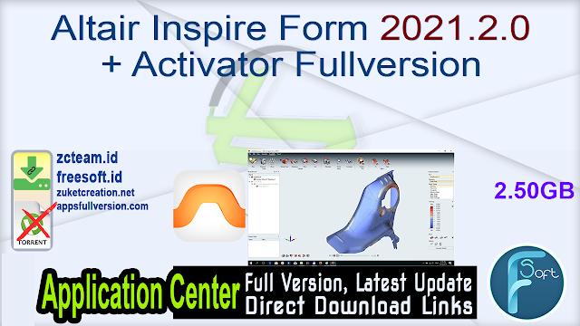 Altair Inspire Form 2021.2.0 + Activator Fullversion