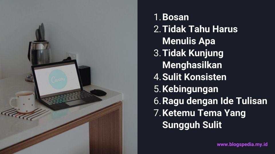 tips atasi blogger block