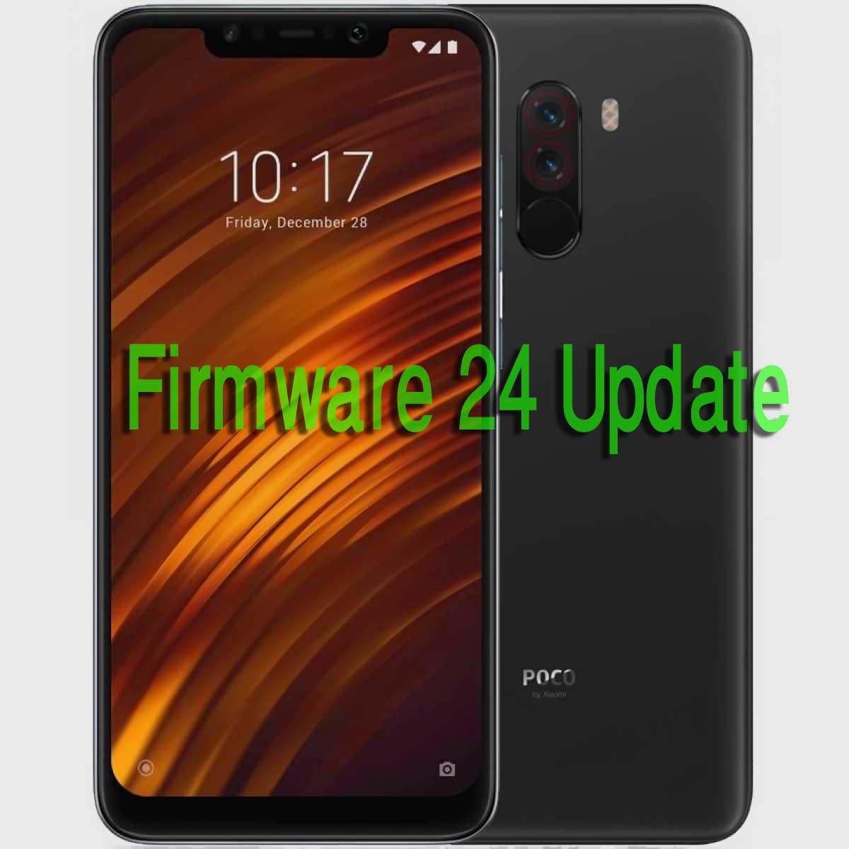 FIRMWARE 24 UPDATE