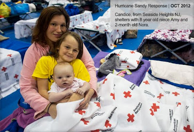 Red Cross shelter - Hurricane Sandy response