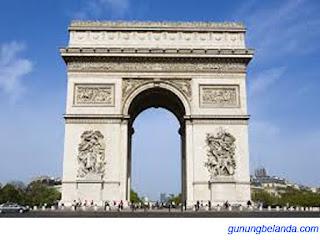 Apakah Arc de Triomphe Terlatak di Perancis