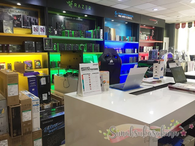 Beli Laptop Baru Dekat EIT Lifestyle Taman Sutera Utama