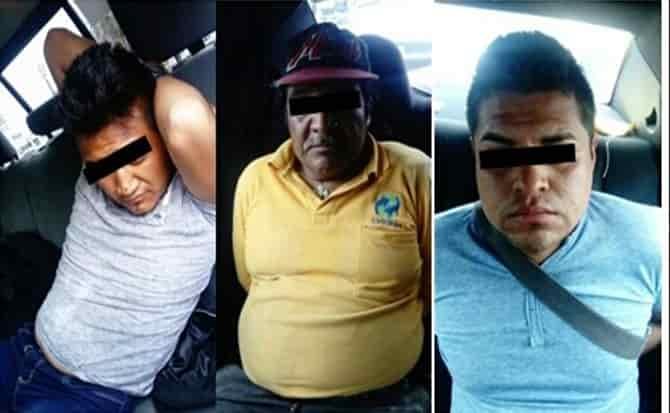 Detenidos, patrulla, vigilancia