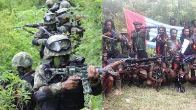 Selama 2,5 Jam Kontak Senjata Aparat, Seorang KKB Tewas di Puncak Papua