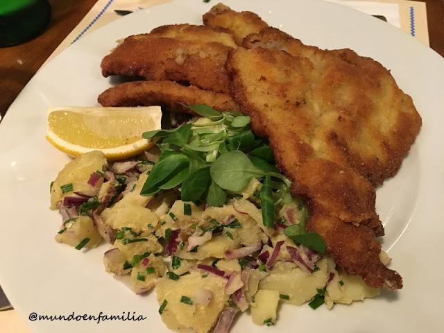 "Breaded Viennese Veal ""Wiener Schnitzel"" (Restaurante U Bulinu)"