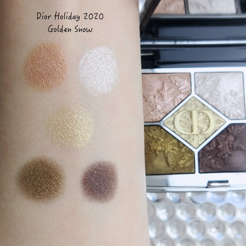 Dior Holiday 2020 Collection Golden Nights review swatches