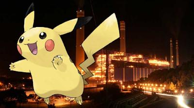 Pikachu PLTU Paiton