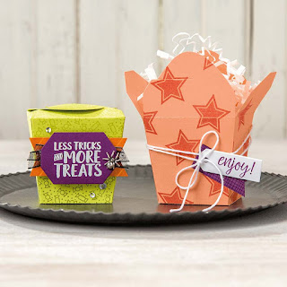 Stampin' Up! Takeout Treats ~ 2018 Holiday Catalog ~ 9 Halloween Sweet Treat Ideas
