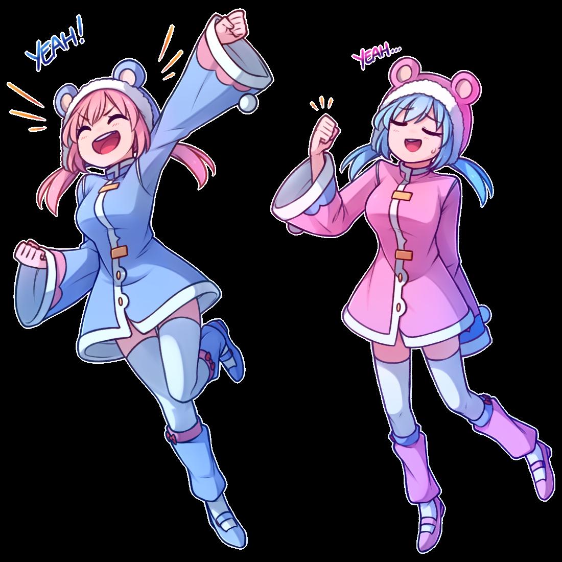 PNG Nieve y Nixie