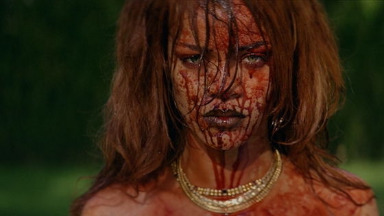 X Music TV presents Rihanna and her music video for the song Bitch Better Have My Money