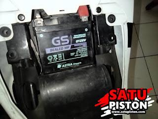 Ukuran Aki GSX R150, Masuk Sini Sob!!