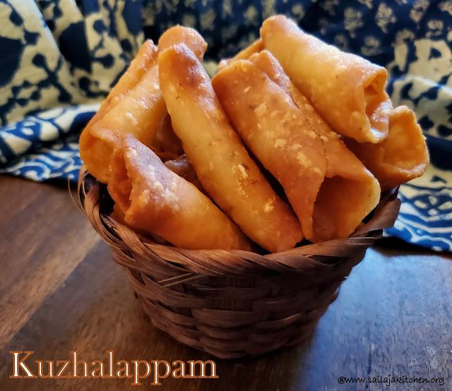images of Kuzhalappam / Kuzhalappam A Kerala Snack Recipe / Kerala Kuzhalappam