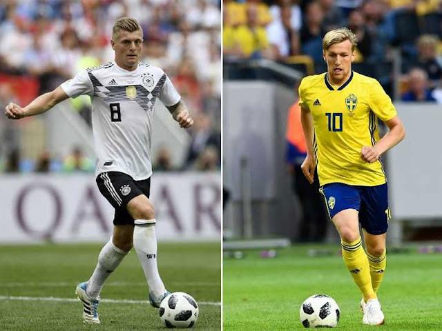 يلا شوت مشاهدة مباراة ألمانيا والسويد اليوم في كأس العالم 2018 .. روابط الأسطورة HD