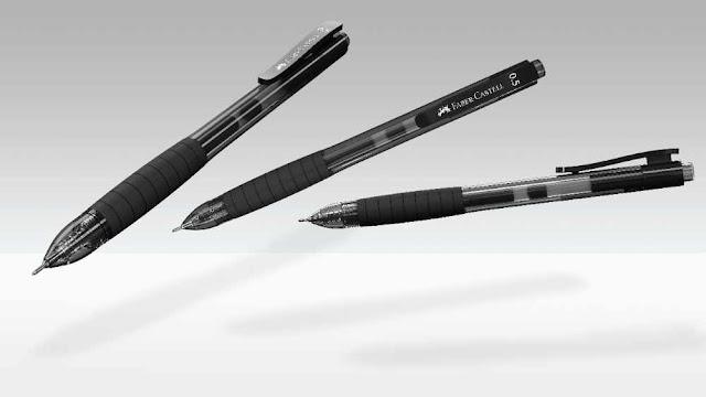 Pen Gel Faber Castell Paling Lancar  FAST GEL Z, Faber- Castell, Fast Gel Z, Pen gel paling best digunakan, pen terbaik dari Faber - Castell